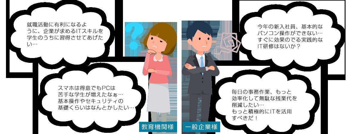 """こんな""""お悩み""""ありませんか?"""