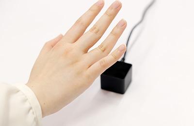 手のひら静脈認証タイムレコーダー