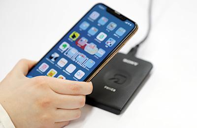 ICカード(スマートフォン)認証タイムレコーダー